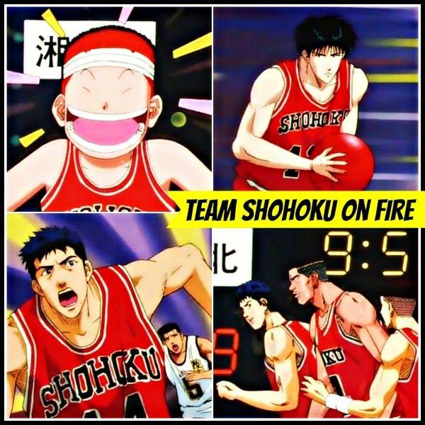 Driven By Hanamichi's Incredible Play Team Shohoku Is On