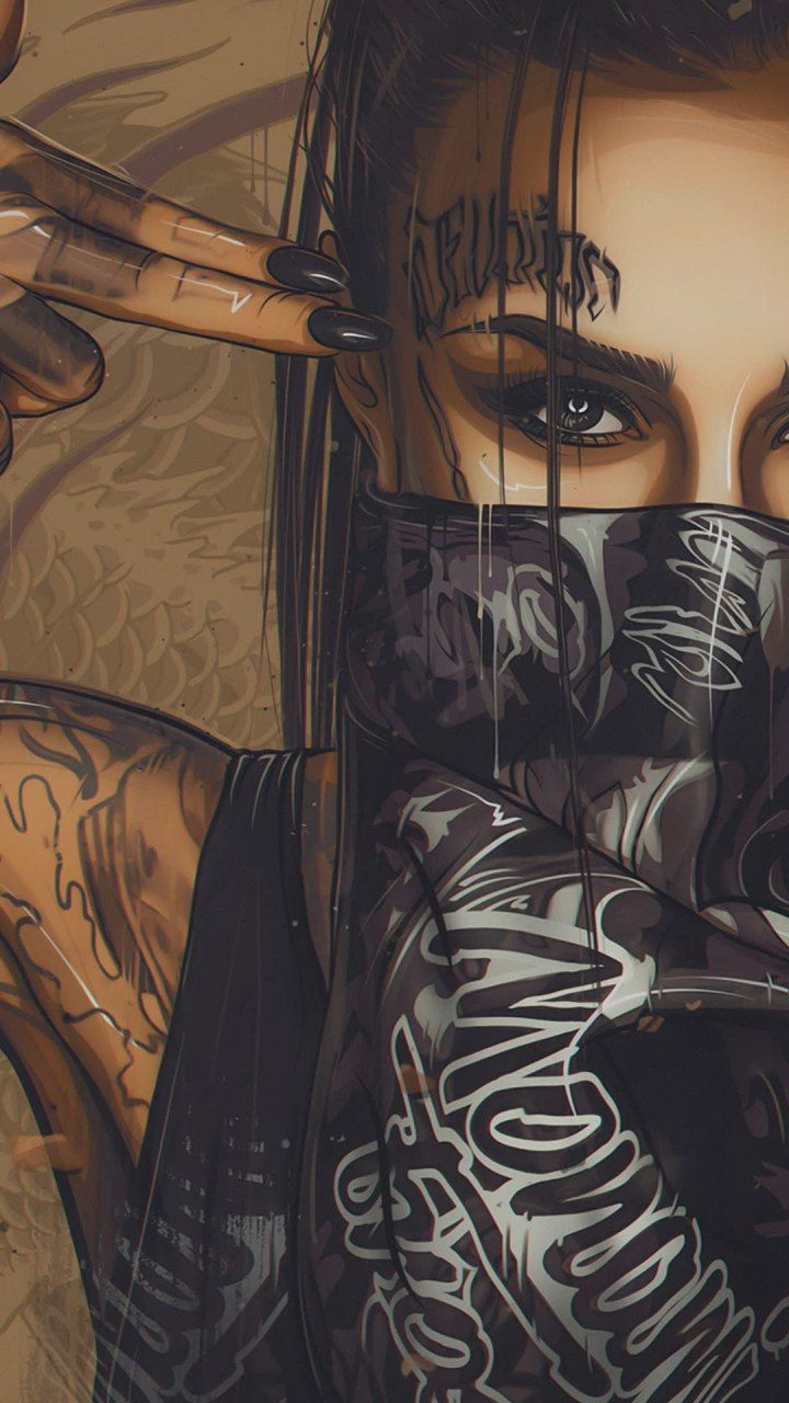 جوال هواوي للبنات خلفيات جوال روعه 2020 Thug Life Wallpaper Tattoo Girl Wallpaper Cute Anime Wallpaper