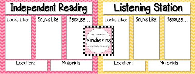 Kindiekins: Daily 5 Anchor Charts & Voice Levels Freebies :)