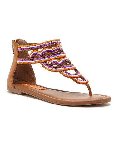 1aa0af232 Love this Tan Smooth Henley Sandal on  zulily!  zulilyfinds
