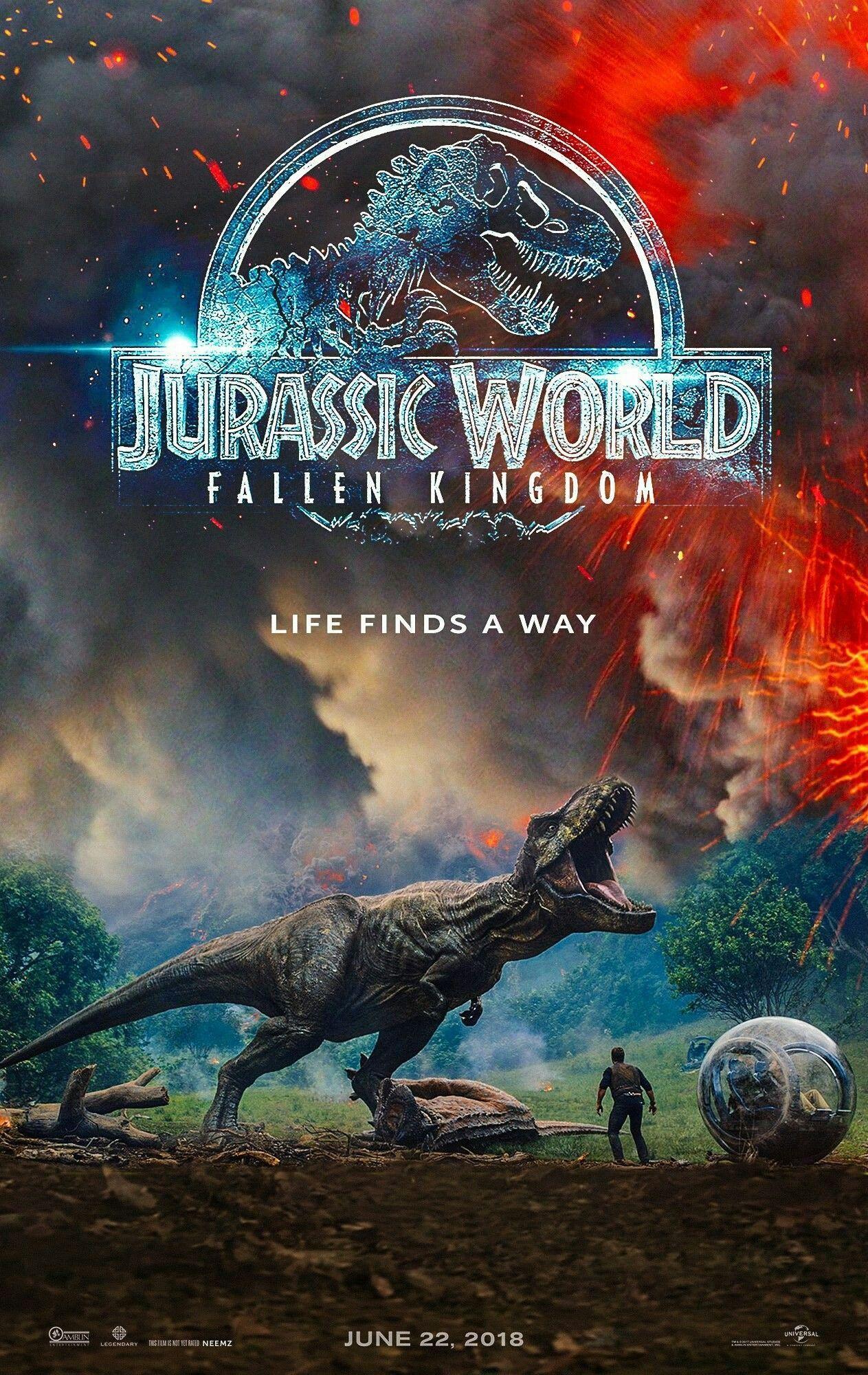 Jurassic World 2 El Reino Caido 2018 Jurassic World Película Completa Jurassic World Peliculas De Terror