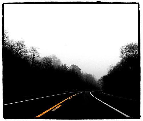 Foggy Road Spot Color With Images Spot Colour Foggy Color