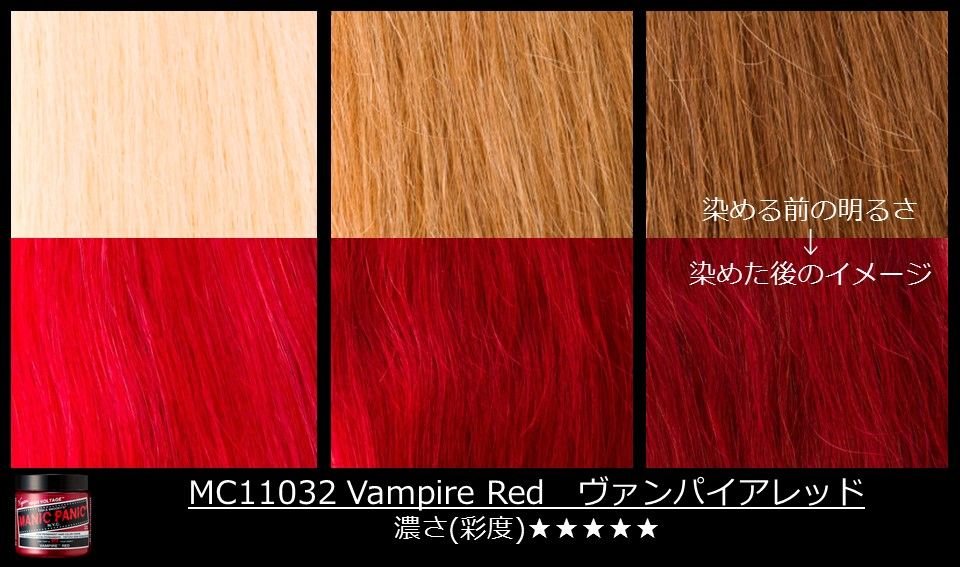 Different Shades Of Red vampirered can work on different levels of blonde! see how your