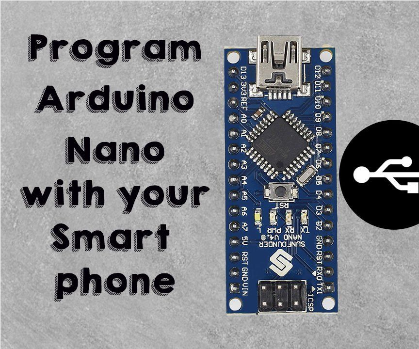 Program Arduino Using Smartphone: In this Instructable, I have shown you how to program…