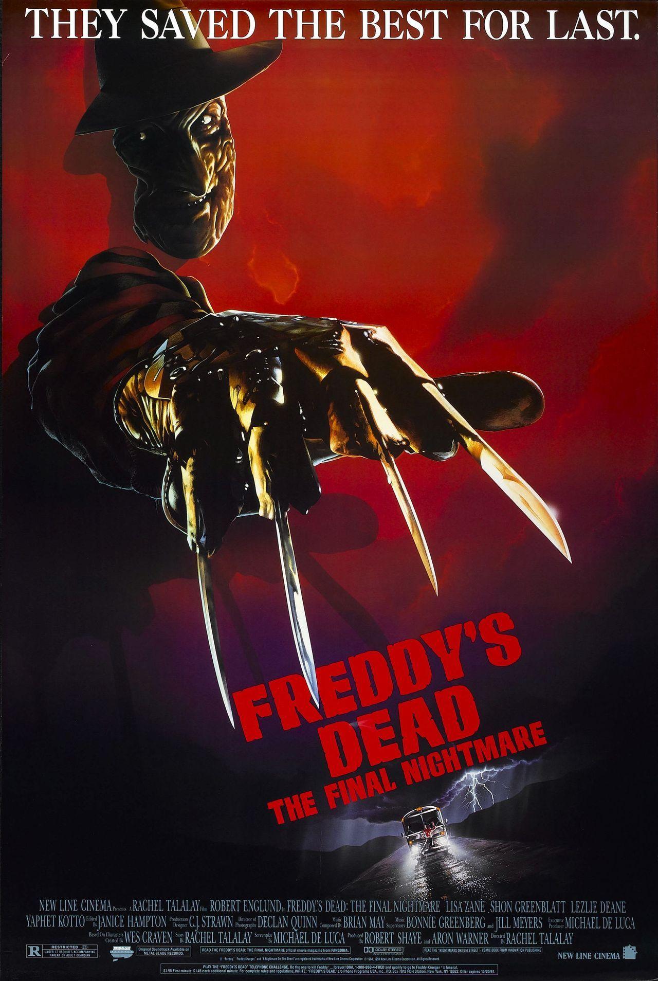 A Nightmare On Elm Street 6 Freddy S Dead 1991 Movie Review