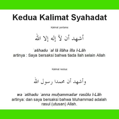 Syahadat Islam Makna Kandungan Syarat Asas Perkara Membatalkan Cinta Allah Motivasi Ikrar