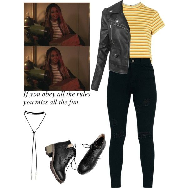 Toni Topaz / Riverdale by demiwitch-of-mischief on Polyvore featuring Topshop and LE3NO   oufits ...