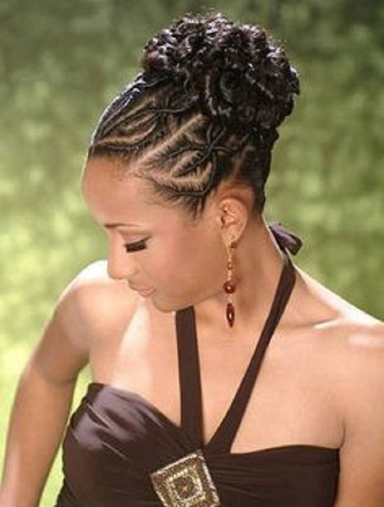 Braided Updo Hairstyles For Black Girls Braided Updo Hairstyles For