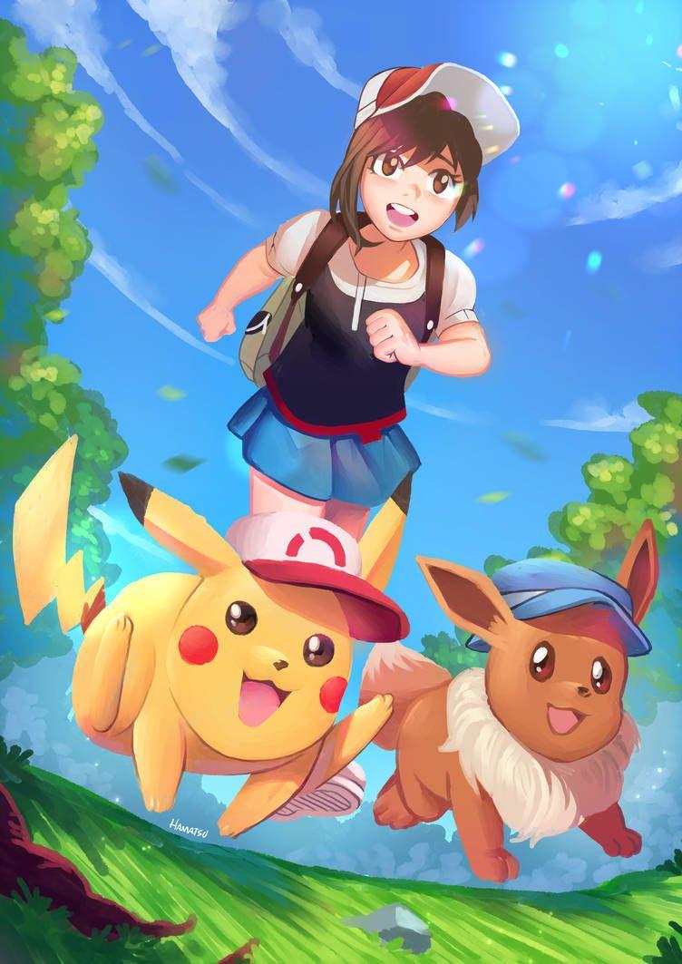Pokemon Let S Go Eeeee Pokemon Let S Go Pikachu Pikachu Pokemon Eevee Pokemon Characters