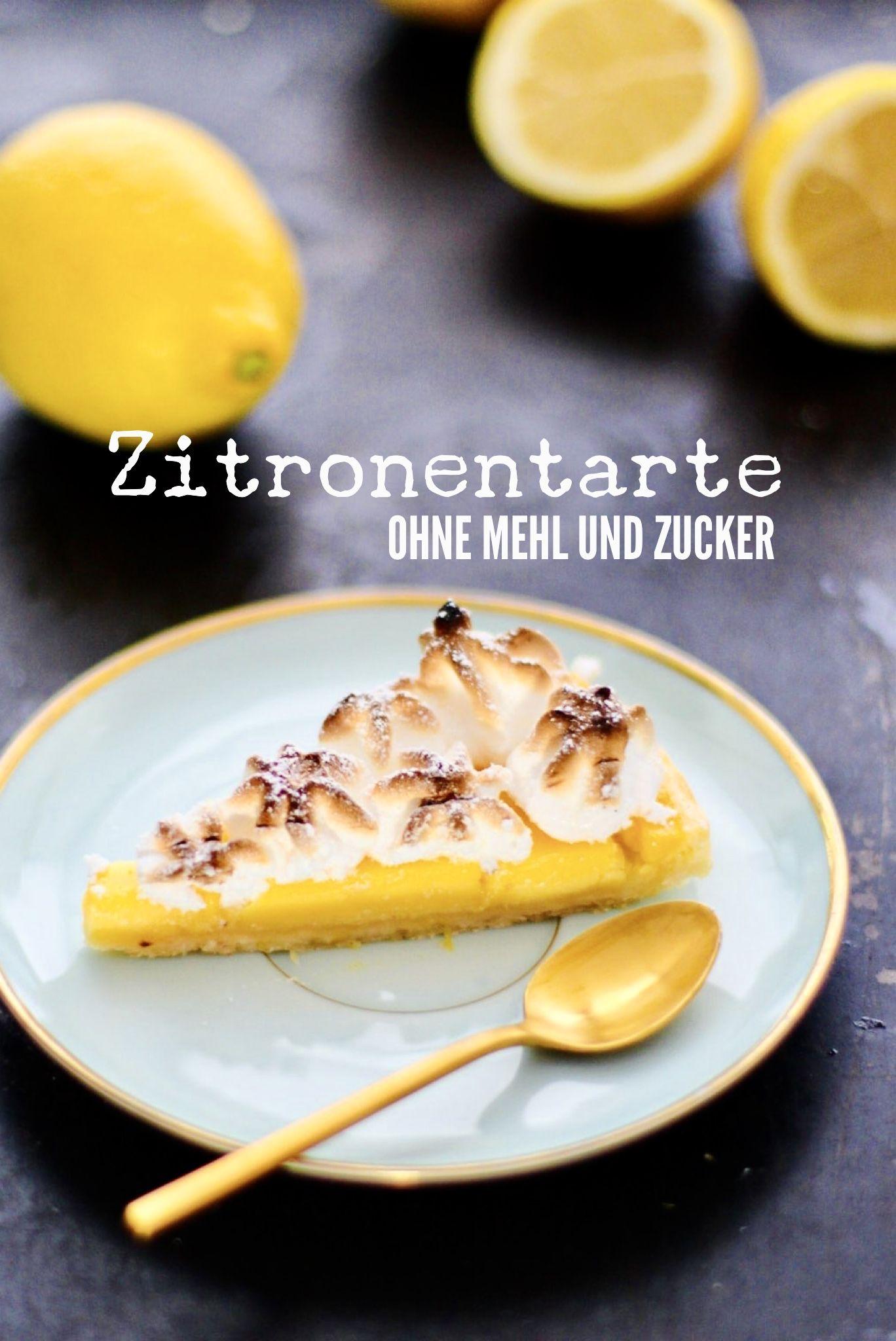 Zitronentarte low carb - Holla die Kochfee