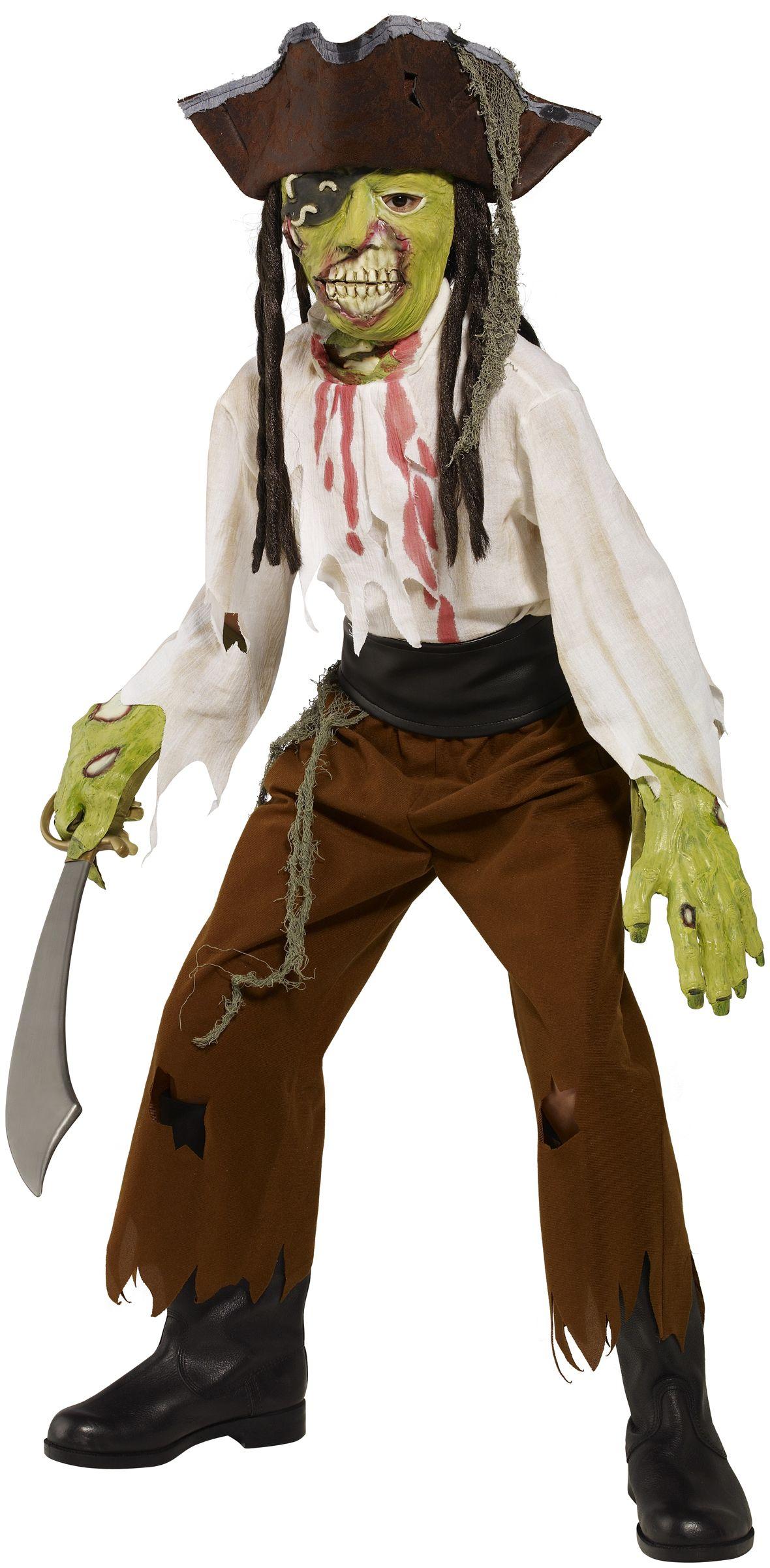 Costume pirata mostro bambino Halloween  Questo travestimento da pirata  mostro di Halloween per bambino è c548d1664a4