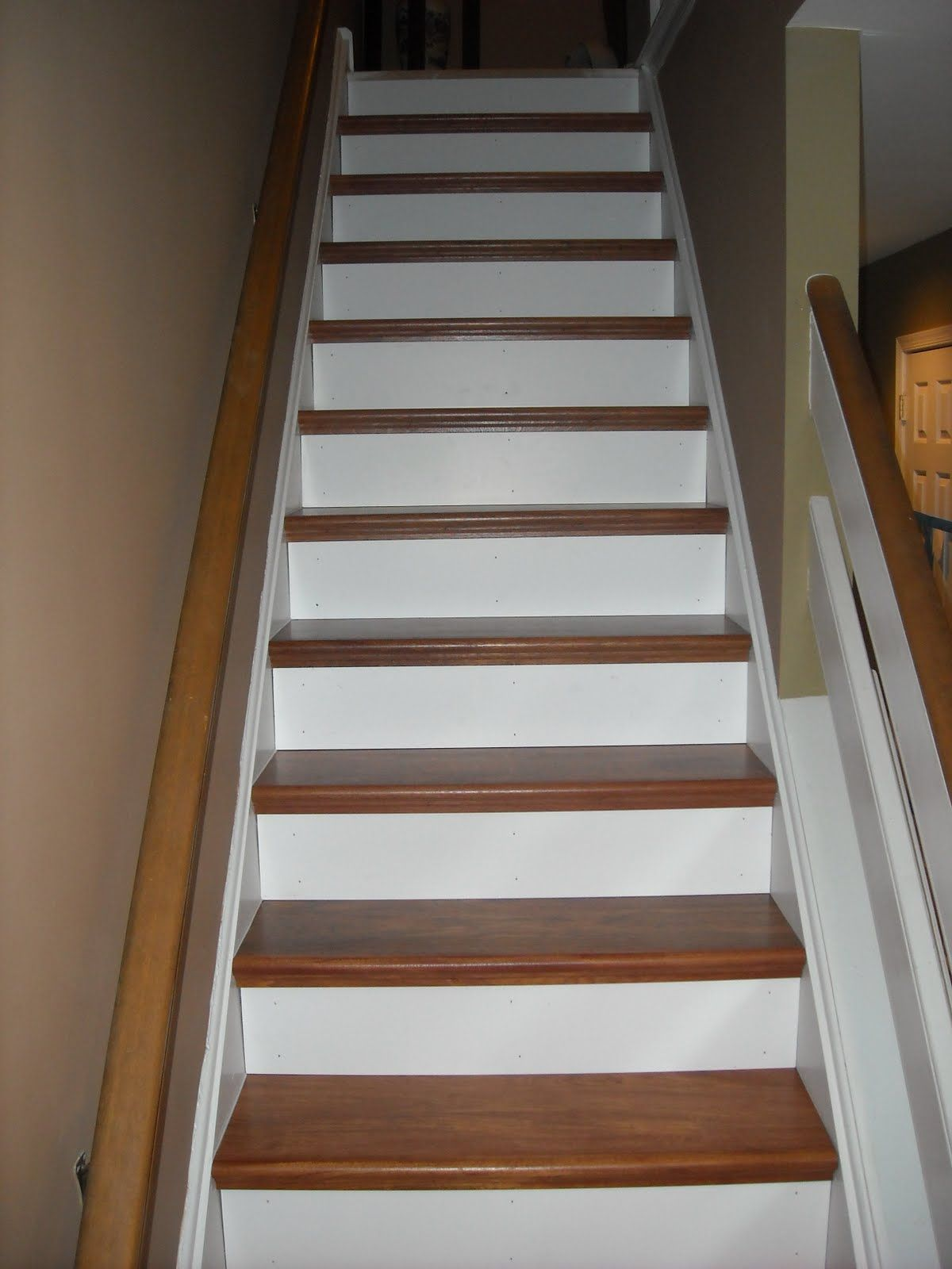 NuStair Stairtreads With Painted Risers By Coppolino Construction Inc.| DIY  Staircase Remodel | Stair Covers | Stair Caps | Stair Facing | Stair  Refacing ...