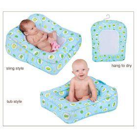 Leachco Flipper 2-Way Baby Bather -Frog Pond, (baby, baby bathtub ...