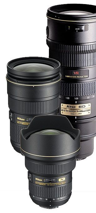 The ideal high-end, full-frame landscape lens kit would include a ...
