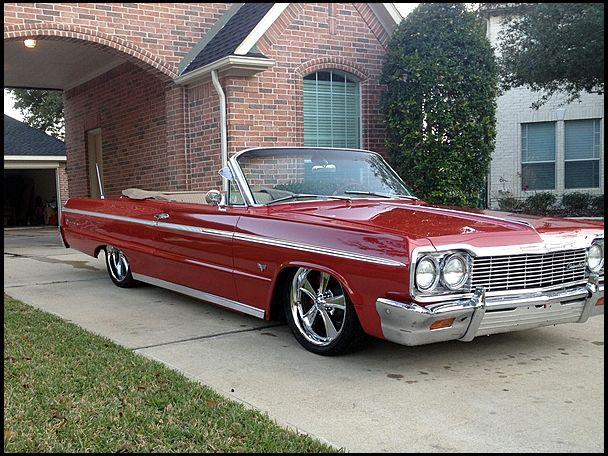 1964 chevrolet impala ss convertible 327 ci automatic. Black Bedroom Furniture Sets. Home Design Ideas