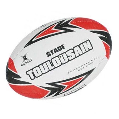 ballon de rugby du stade toulousain marque gilbert pour le loisir ou lentra nement des jeunes. Black Bedroom Furniture Sets. Home Design Ideas