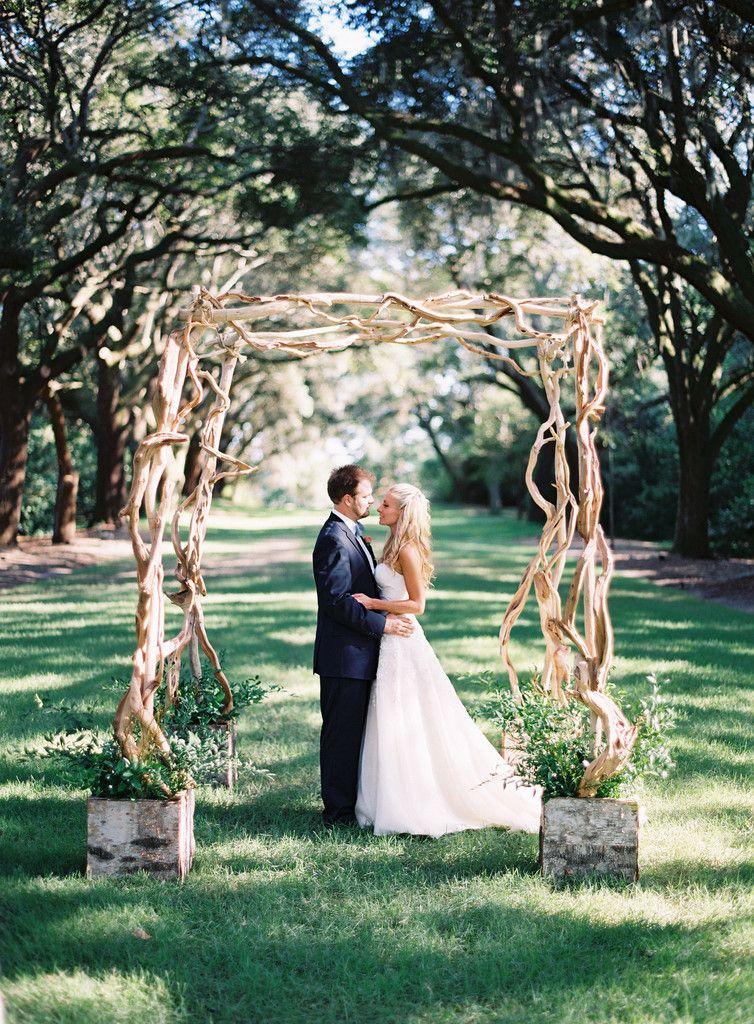 Driftwood Arbor Wedding Archway Wedding Inside Driftwood Wedding