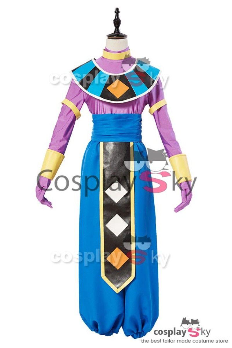 Dragon Ball God of Destruction Beerus Cosplay Costume 5  fa22a78d7baa