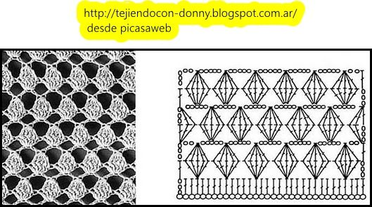 PATRONES - CROCHET - GANCHILLO - GRAFICOS | Crochet stitches ...