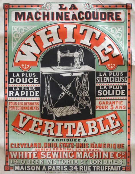 machine à coudre White Véritable - Paris - France -