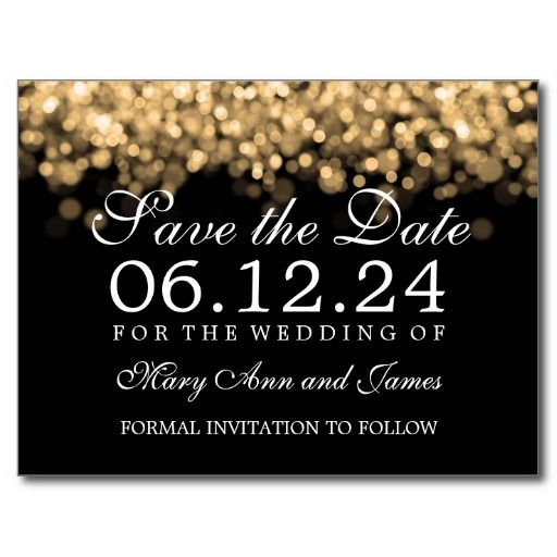 Wedding  - save the date template
