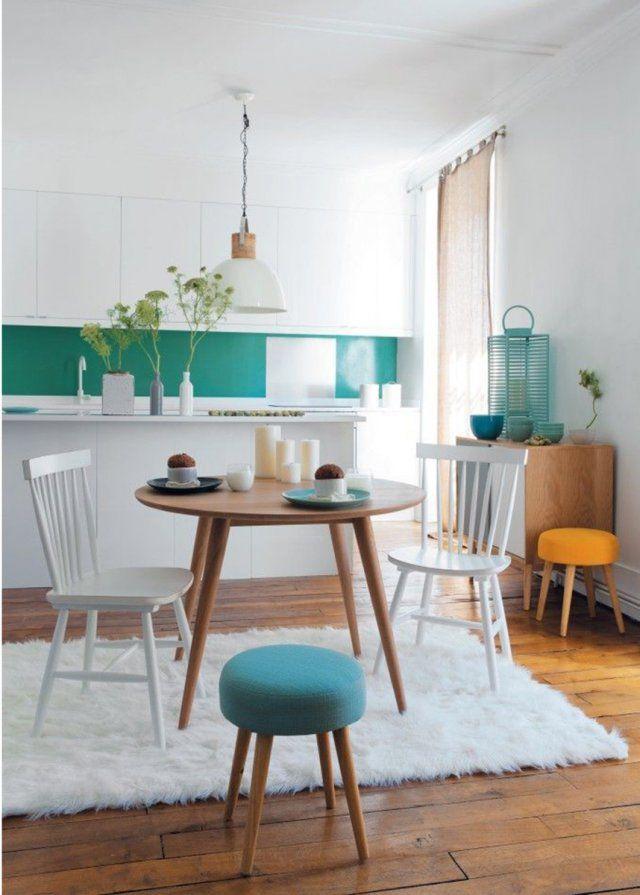 Une cuisine sur salle à manger d\'inspiration scandinave - Marie ...