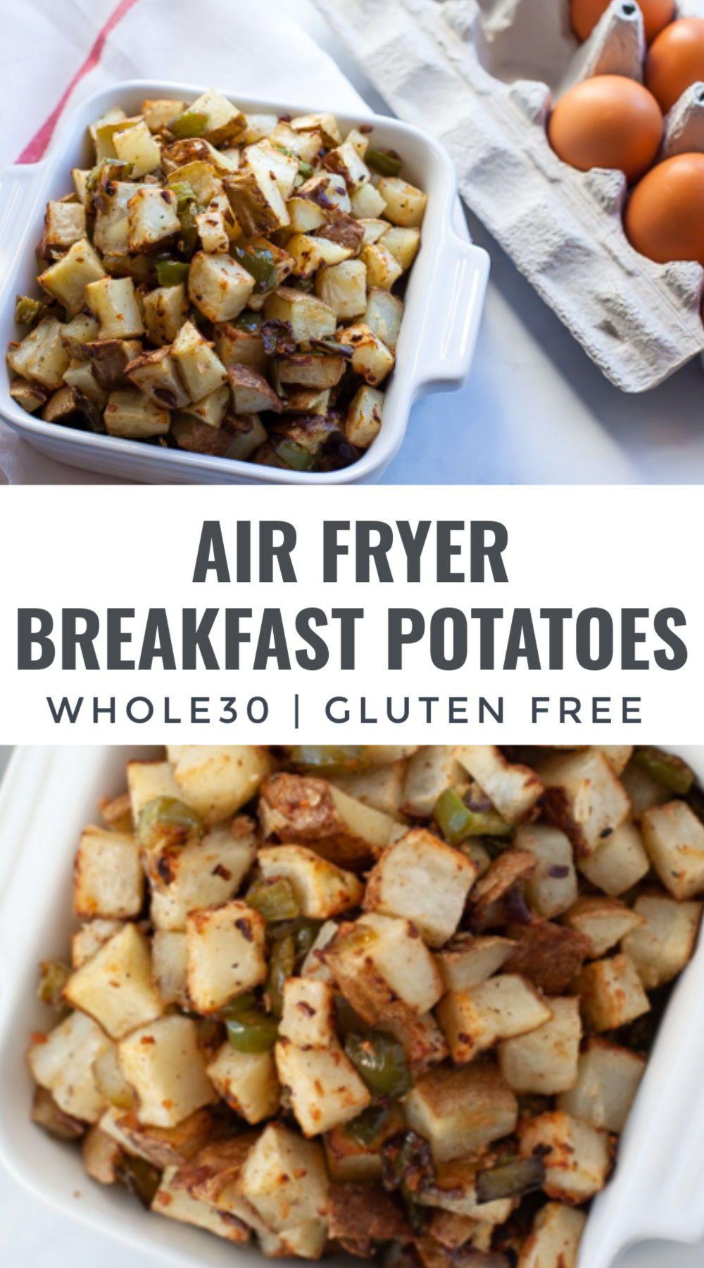 Air Fryer Hashbrowns Recipe in 2020 Breakfast sides