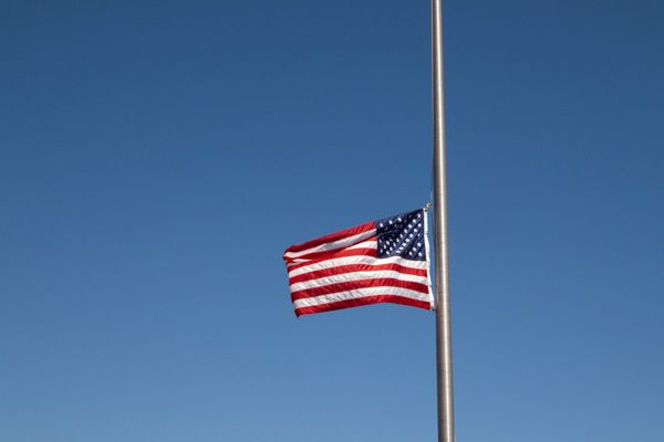 How To Fly A Flag At Half Staff Flag Flags Half Staff Boy Scouts