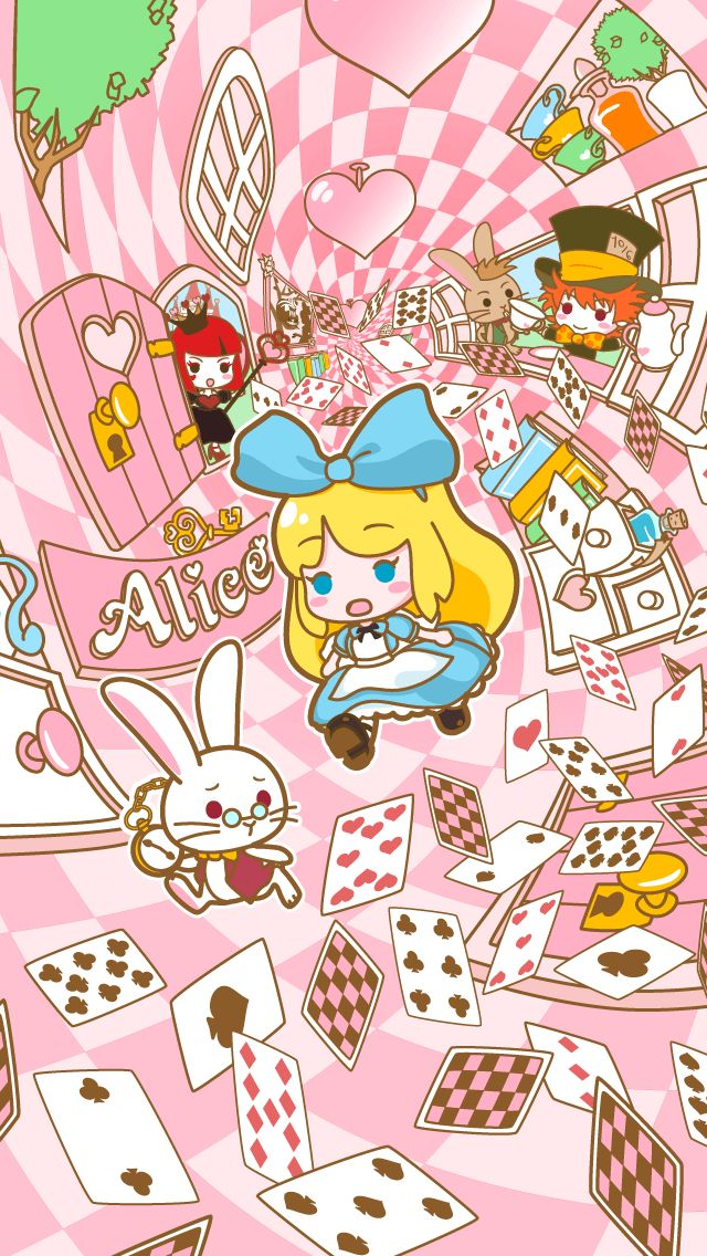 Pin by Stilla Ae on Wallpaper iPhone Alice in wonderland