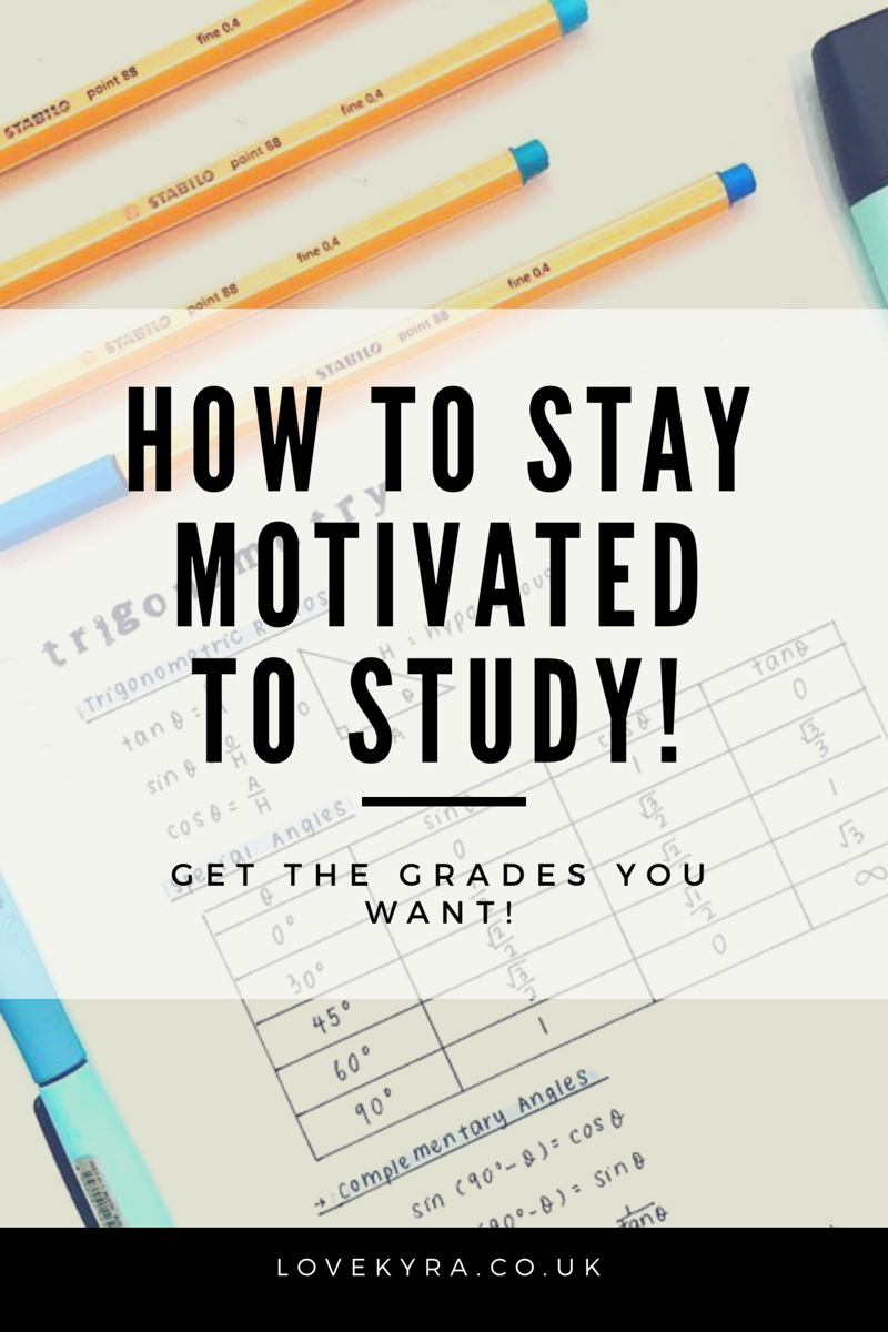 Study Study Motivation How To Study How To Be Motivated How To Get Good Grades Education Motivat How To Pass Exams How To Stay Motivated School Study Tips