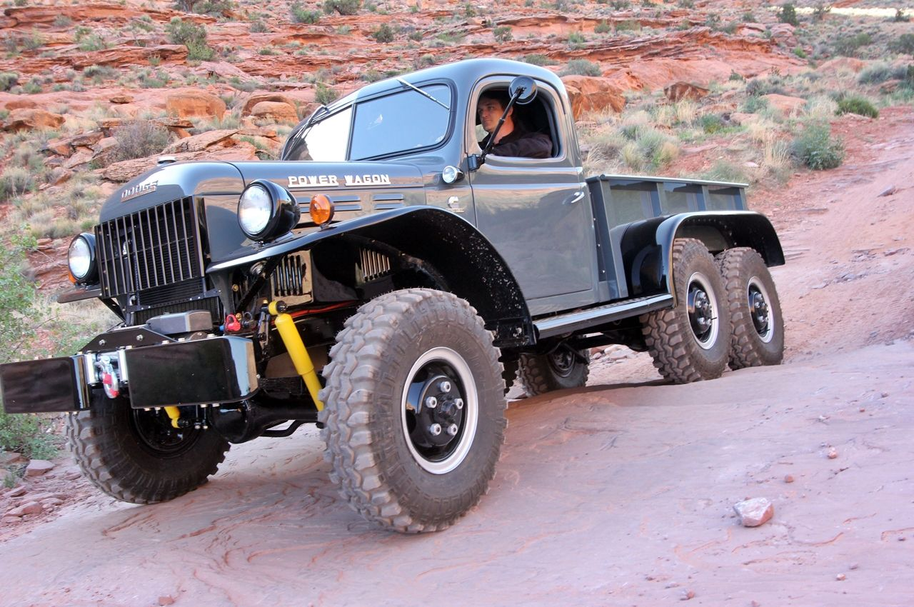 63 Power Wagon >> Dodge Wc 63 Power Wagon 6x6 El Todoterreno Militar Civilizado Que