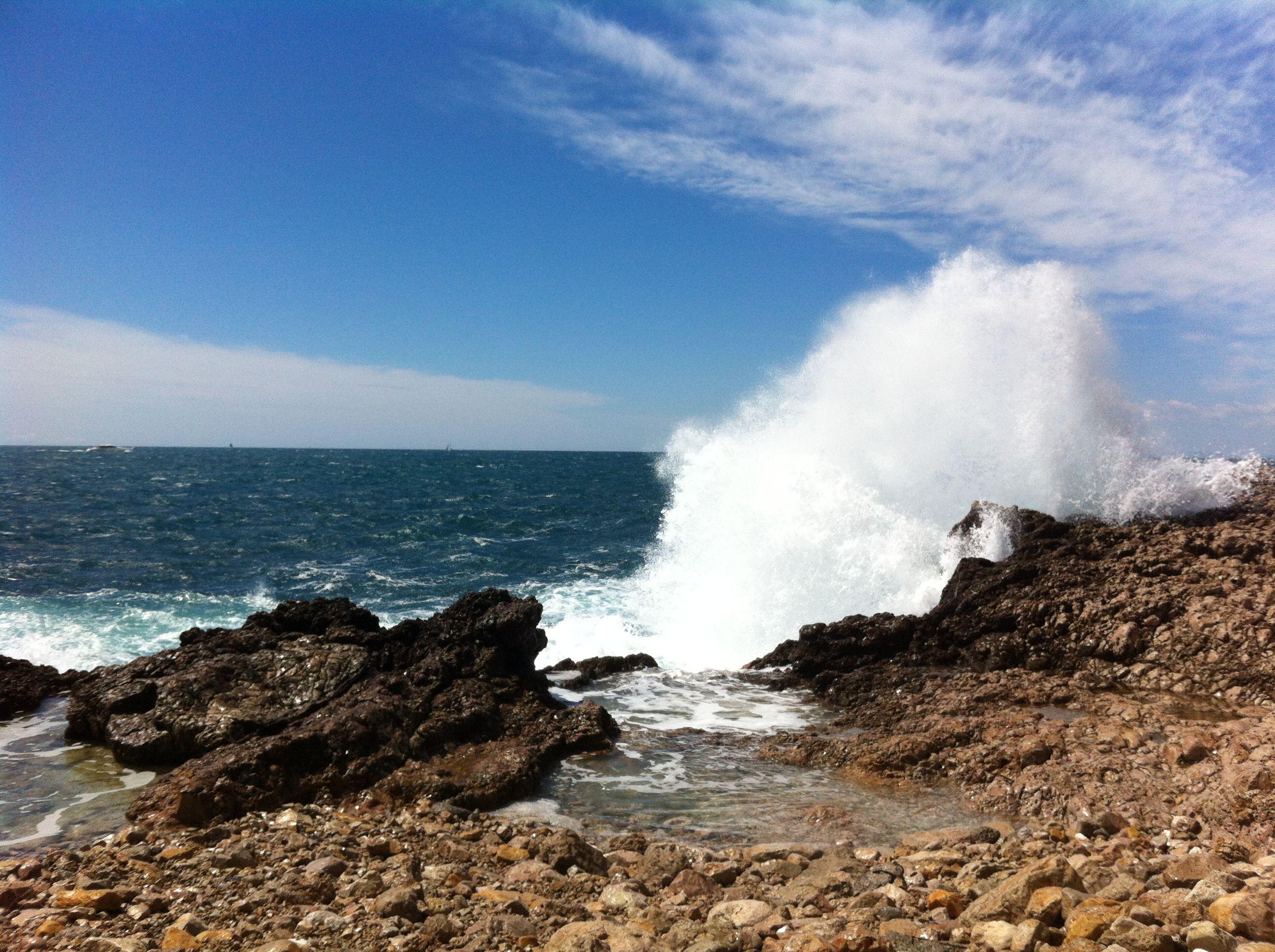 Mer déchaînée #capdantibes