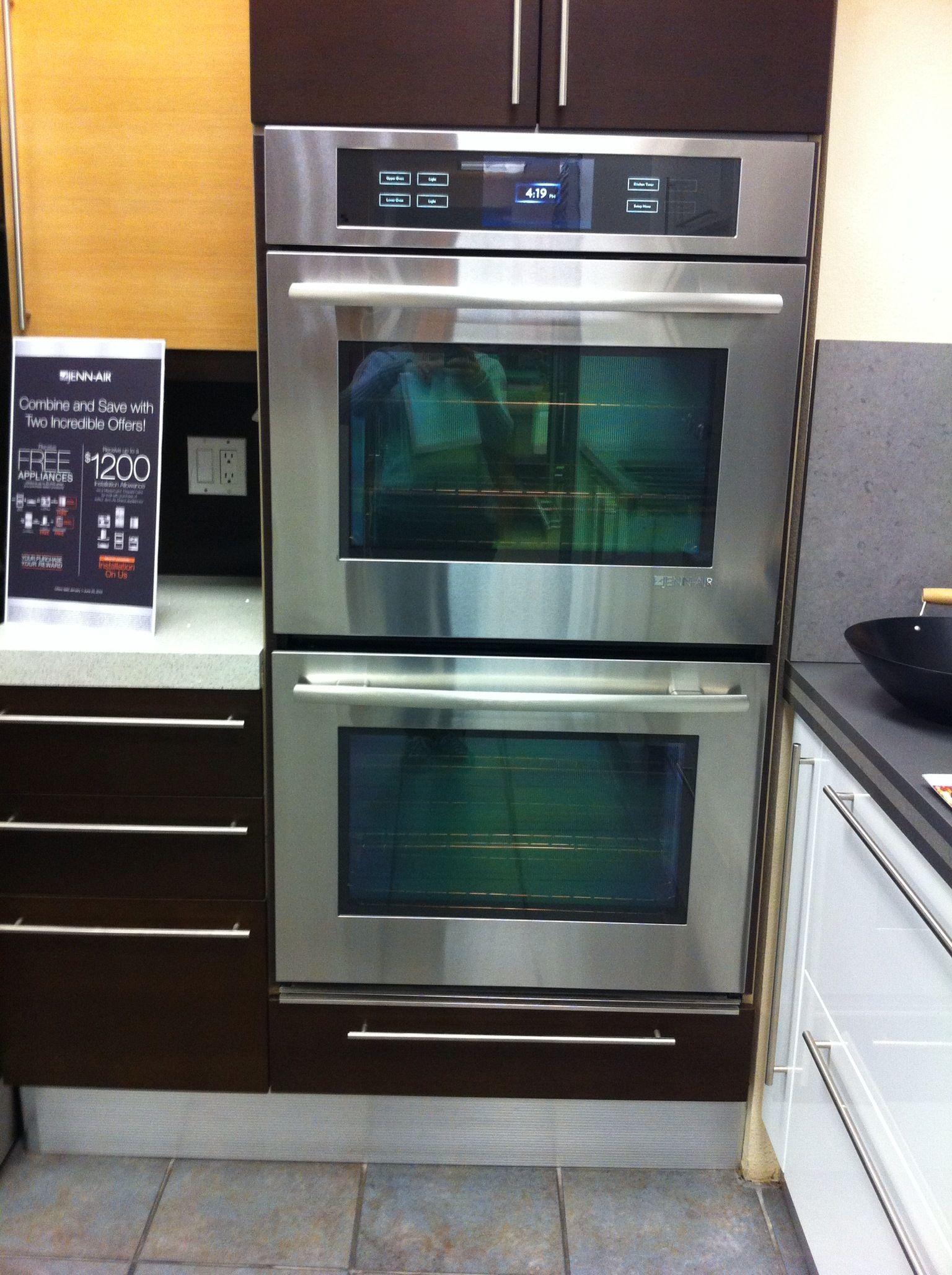 jenn air double wall oven ind kitchen appliances pinterest