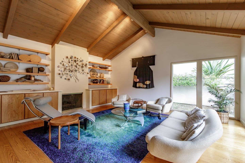 la canada rd hillsborough ca mid century modern home