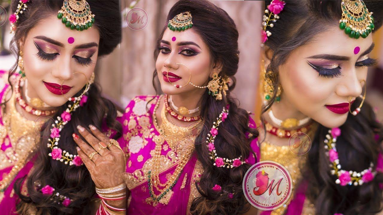Best Makeup Tutorial For Indian Reception Bride Step By Step Mayur Best Bridal Makeup Best Makeup Tutorials Bridal Makeup Tutorial