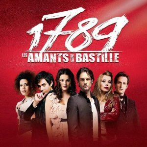 1789, les amants de la Bastille soundtrack ~ really like the music I've heard thus so far. I guess this will be the next best thing to seeing the musical! Album out April 2nd.
