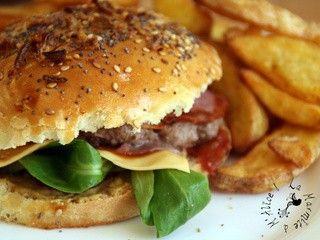 SorciBacon Burger