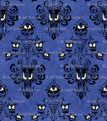 Haunted Mansion DoomBuggies Eye Fabric Disney home