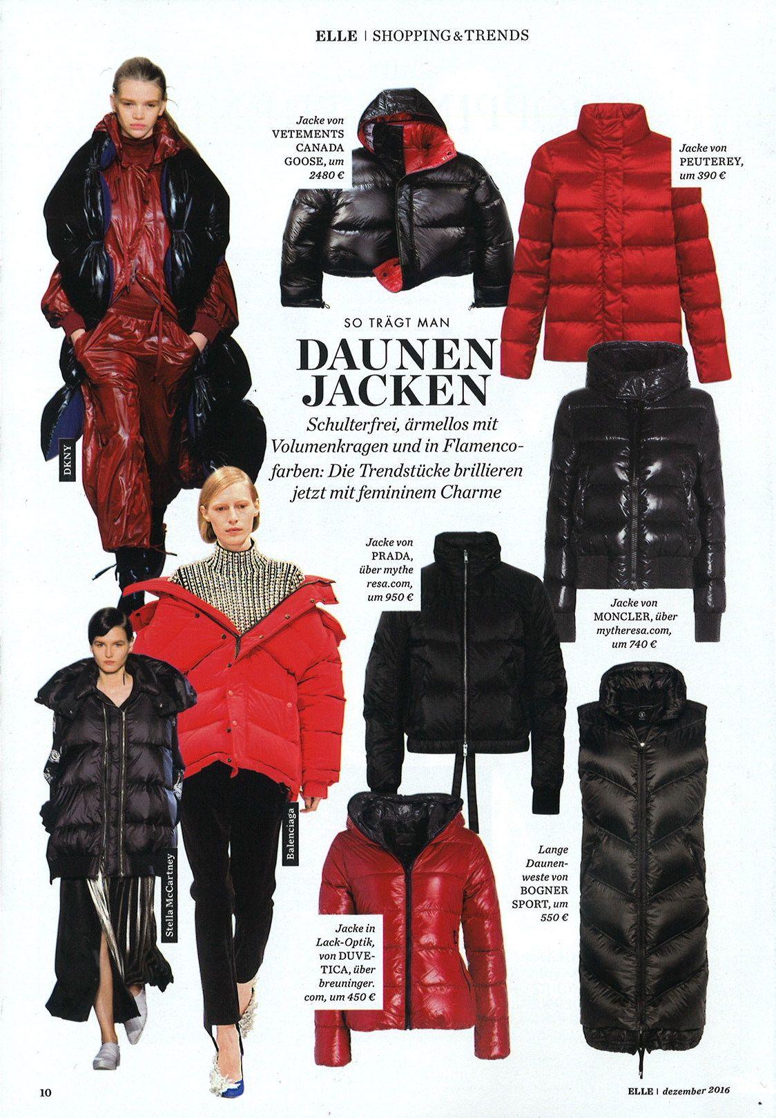 e502ad460bf CG x Vetements Macmillan Parka @ELLE_Germany, November 2016 | Canada ...
