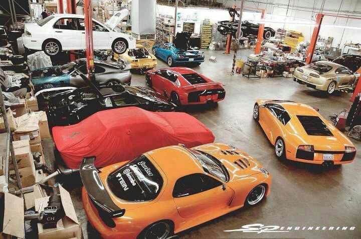 What a garage should look like