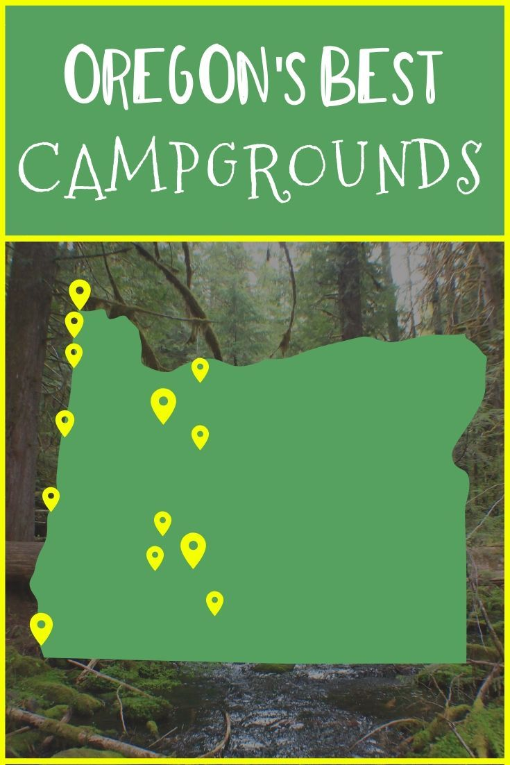 16 Best Campgrounds in Oregon • Nomads With A Purpose