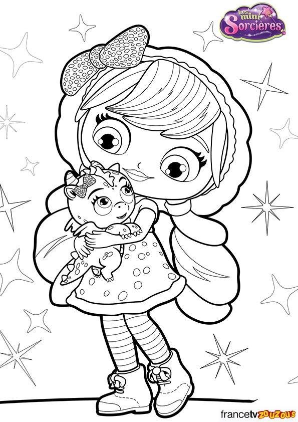 Lavenderflare Jpg 595 842 Little Charmers Nick Jr Coloring Pages Coloring Pages