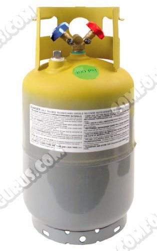 Refrigerant Recovery Cylinder Tank 30lb Http Www Cheapindustrial Com R Refrigeration And Air Conditioning Air Conditioner Accessories Sharp Air Conditioner