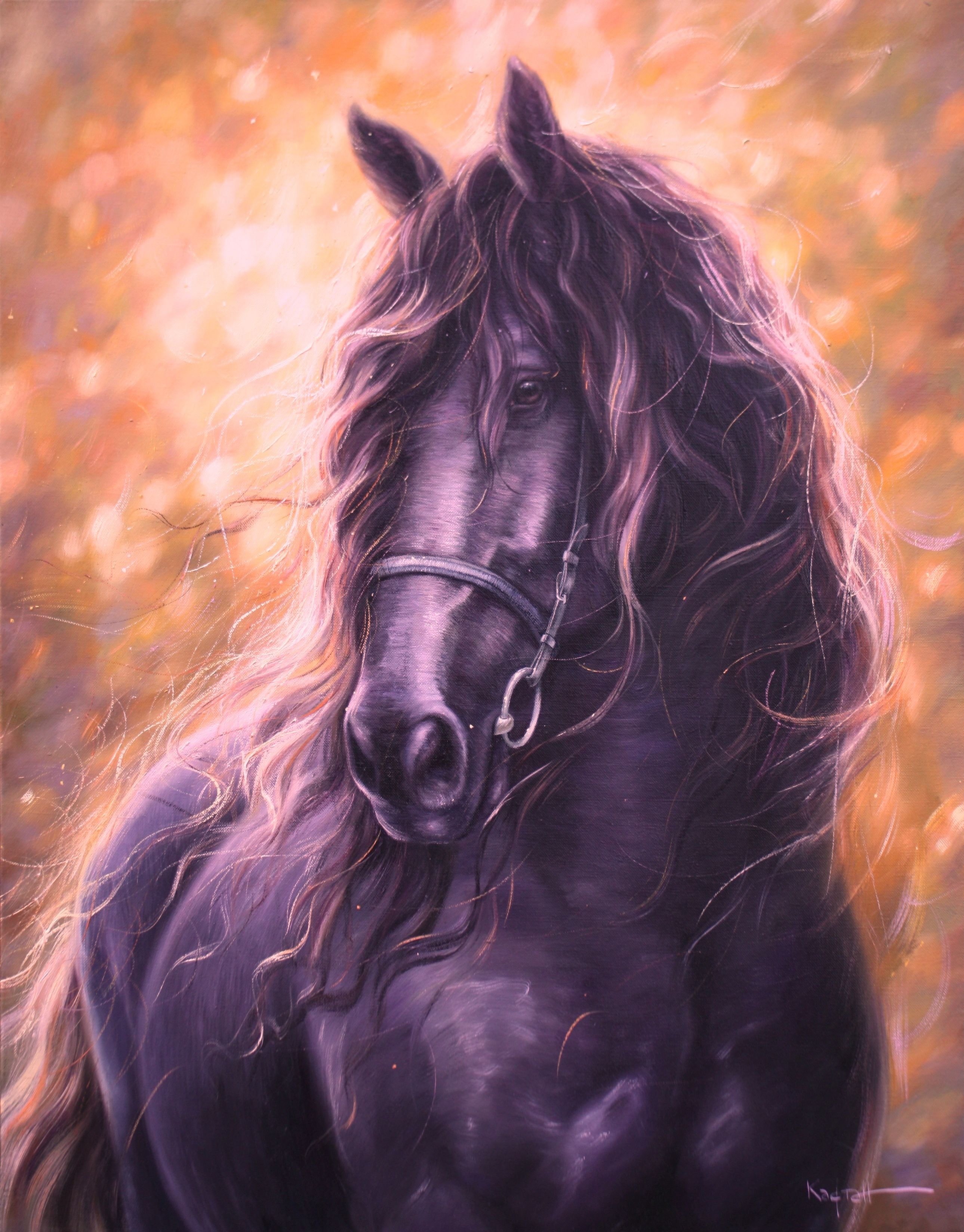 Wild Horse Oil Painting Animals Oil Painting On Canvas Etsy In 2020 Horse Oil Painting Oil Painting On Canvas Oil Painting