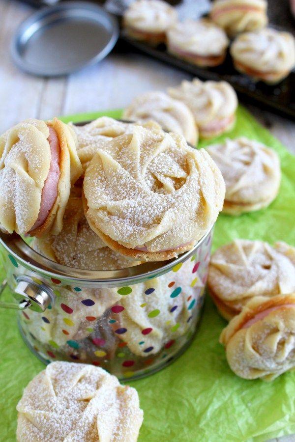 lemon raspberry spritz cookies | Sweet Tooth, Try Me! | Pinterest ...