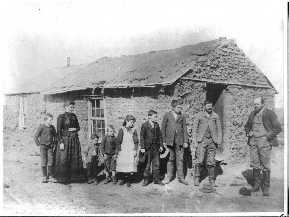 george wilcoxen s sod home in kansas 1 westward migration rh pinterest com