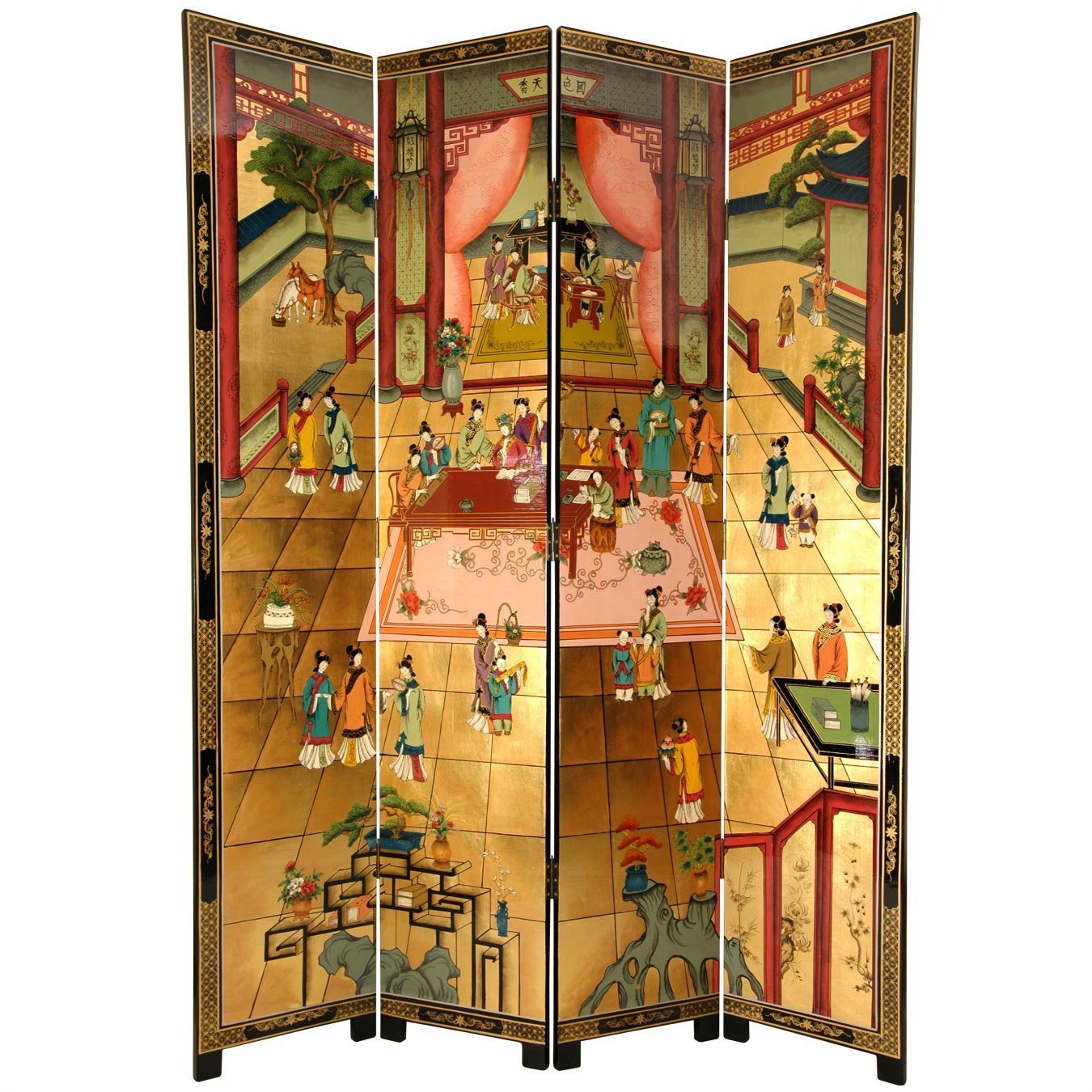 7 ft tall dream of the red chamber screen orientalfurniture com rh pinterest com