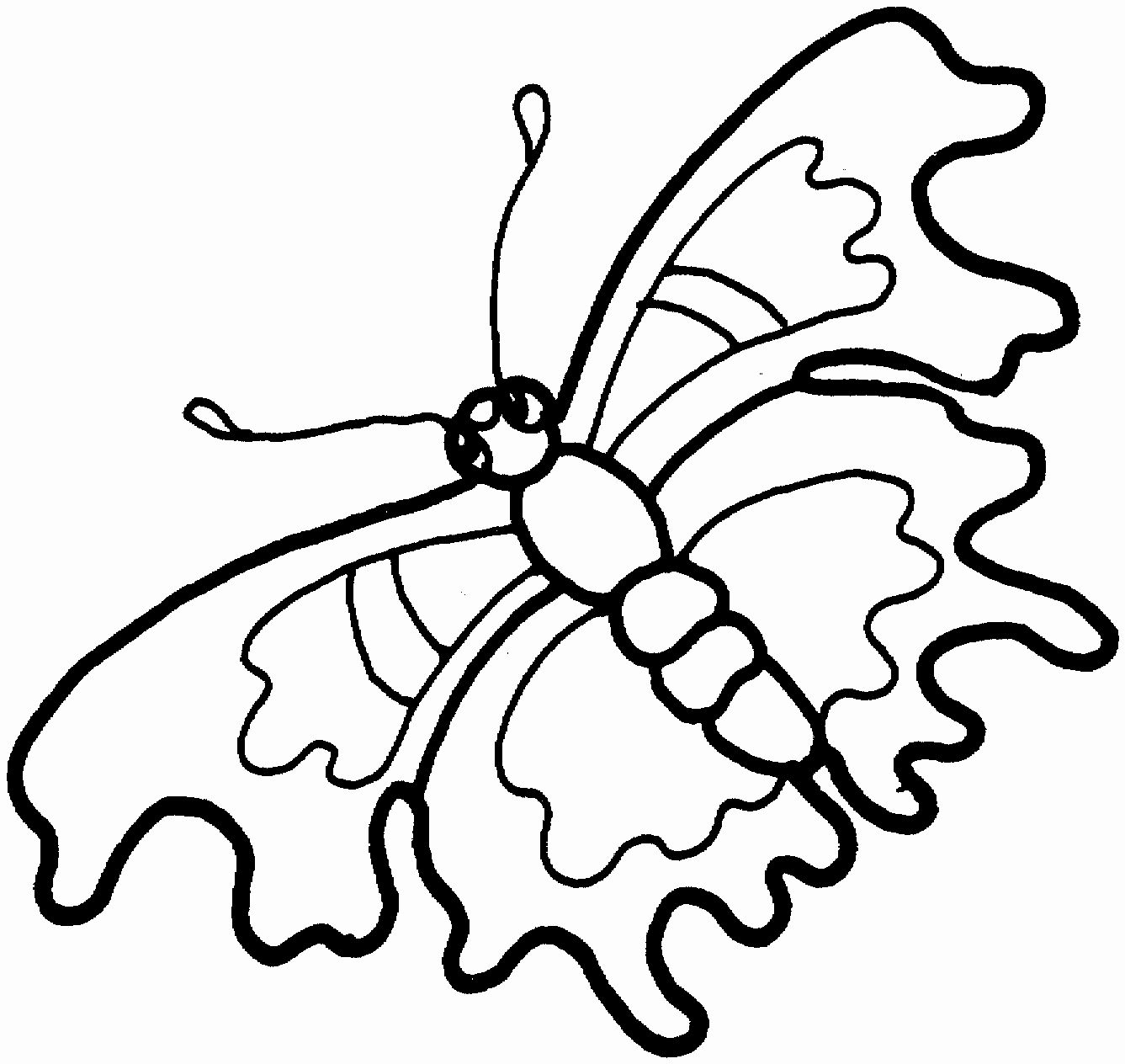 Butterfly Coloring Pages Printable Best Of Free Printable Butterfly Coloring Pages For Kids Butterfly Coloring Page Animal Coloring Pages Coloring Pages [ 1264 x 1337 Pixel ]