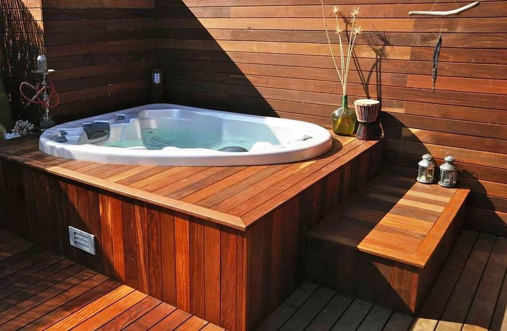 jacuzzi exterior jacuzzis along with a silhouette and corner spa ingropat Resultado de imagen para jacuzzi exterior Phoenicia in 2019 - jacuzzi  exterior