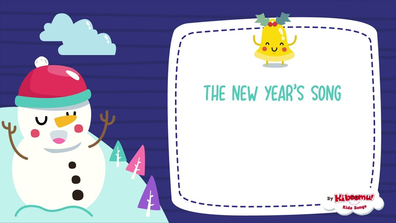 New Year Song for Kids Happy New Year The Kiboomers